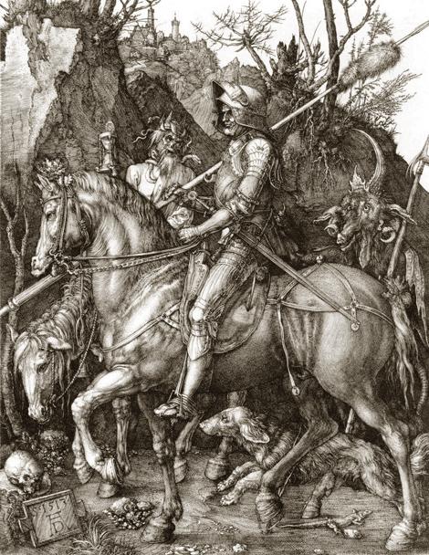 Le Chevalier, le Diable et la Mort